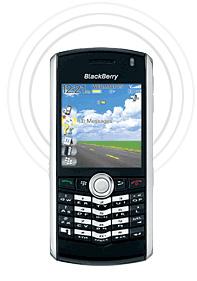 Context-Aware Blackberry (Image courtesy RIM)