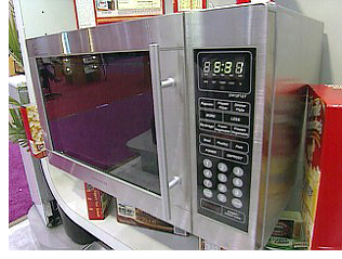 Daewoo Voice Recognition Microwave (Image courtesy HGTV Marketplace)
