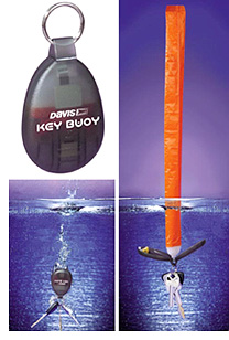 Davis Key Fob With Buoy (Image courtesy Landfall Navigation)