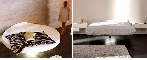 Fluttua Floating Bed (Images courtesy LAGO)