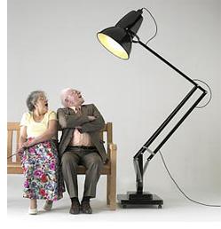 Giant Anglepoise Lamp (Image courtesy Anglepoise)