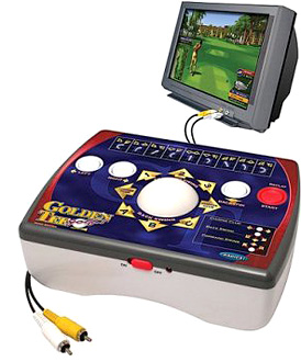 Golden Tee Home Golf Game (Image courtesy Target.com)