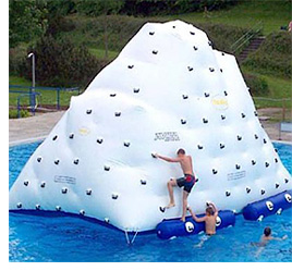 Inflatable Iceberg (Image courtesy Crazy Shark Water Sports)