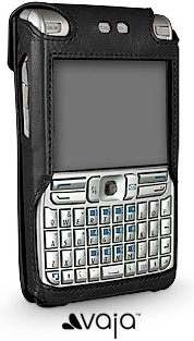Vaja Nokia E61 Leather Case (Image courtesy Vaja)