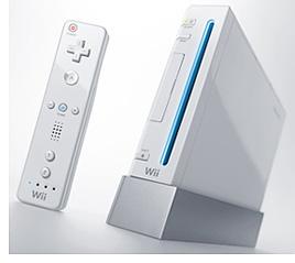 Nintendo Wii Console (Image courtesy Nintendo)
