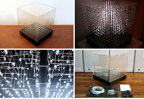 3D Display Cube (Images courtesy James Clar & Associates)