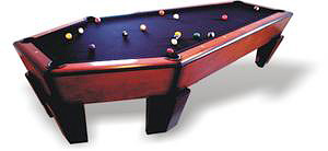 The Manhattan - Casket Pool Table (Image courtesy Casket Furniture)