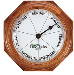 Day Clock (Image courtesy Things You Never Knew Existed)
