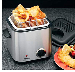 Snack-Size Deep Fryer (Image courtesy Improvements)