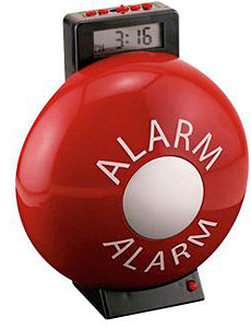 Fire Bell Alarm Clock (Image courtesy Spilsbury)