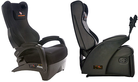 The Ultimate Game Chair (Images courtesy Ultimate Game Chair Inc.)
