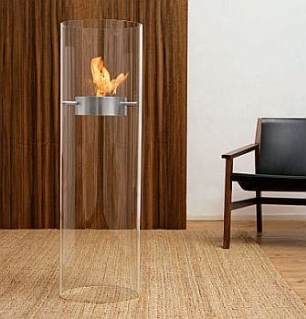 geniol portable fireplace