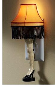 Christmas Story Leg Lamp (Image courtesy Spilsbury)