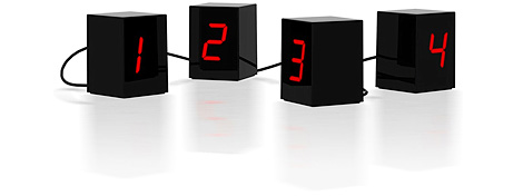 Open Edition LED Clock (Image courtesy Generate)