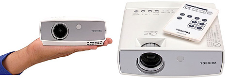 Toshiba TDP-FF1AU (Images courtesy Toshiba)