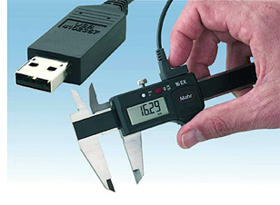 MarConnect USB Interface Kit for Gages (Image courtesy Mahr Federal)