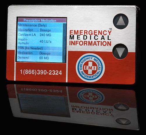 EMI 911 rCard (Image courtesy EMI)