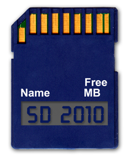 a data sd card