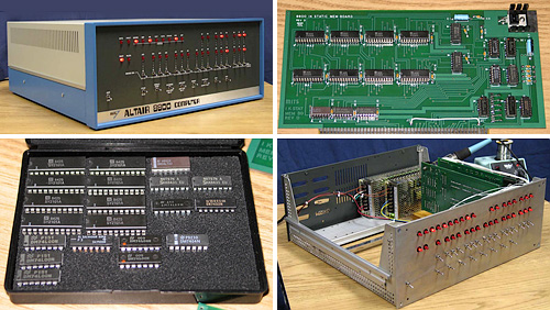 Altair 8800 Kit (Images courtesy Altairkit.com)