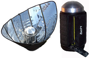 BCKsolar Thermos (Images courtesy Treehugger)