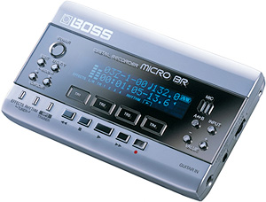 BOSS Micro BR Digital Recorder (Image courtesy Roland)