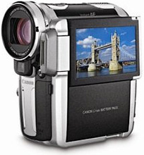 Canon HV10 HD Camcorder (Image courtesy Amazon)