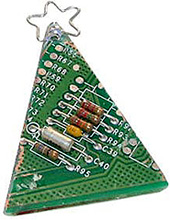 Circuitboard Ornaments (Image courtesy Acorn Studios)