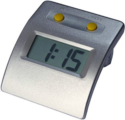 Water Powered H2O Clock (Image courtesy Select Solar Ltd.)