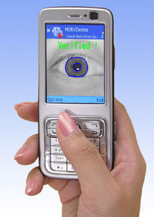 oki iris recognition
