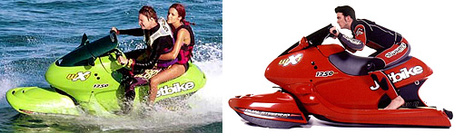 Jetbike (Images courtesy of Aquajet Corporation)