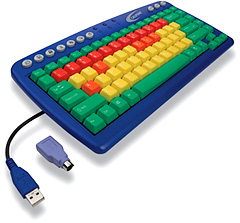 KIDSKEY Keyboard (Image courtesy Califone)
