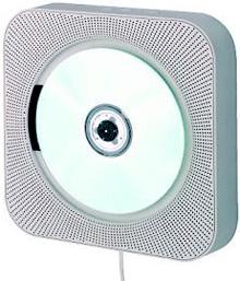 Muji Wall Mountable CD Player (Image courtesy Better Living Through Design)