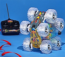 Odyssey 10-Wheel Remote Control Stunt Car (Image courtesy HSN.com)