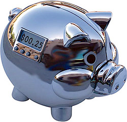 Pig E Bank (Image courtesy Science eStore)