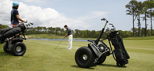 Segway x2 Golf Edition (Image courtesy Segway Inc.)