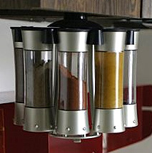 Auto-Measure Spice Carousel (Image courtesy Tiny Living)