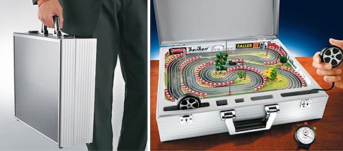 Suitcase Go-Karts (Image courtesy Pro-Idee)