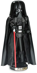 Steinbach Star Wars Darth Vader Nutcracker (Image courtesy Hammacher Schlemmer)