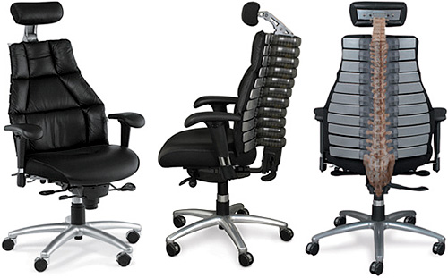 vert seating office chair conforms to your spine ohgizmo