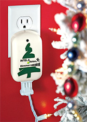 Voice Activated Christmas Lights (Image courtesy Solutions)