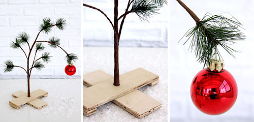 Charlie Brown Pathetic Tree (Images courtesy Urban Outfitters)
