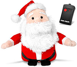 Remote Control Farting Santa (Image courtesy I Want One Of Those)