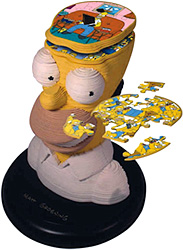 Homer Sculpture Puzzle (Image courtesy Hawkin's Bazaar)
