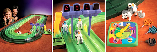 Mini Horse Racing Track (Images courtesy Pro-Idee)