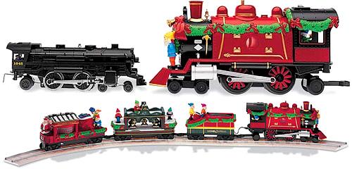 Lionel's Santa Express (Images courtesy the Herrington Catalog)