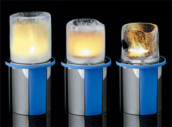 Mathmos Thaw Tea Lights (Image courtesy Gadgets.dk)