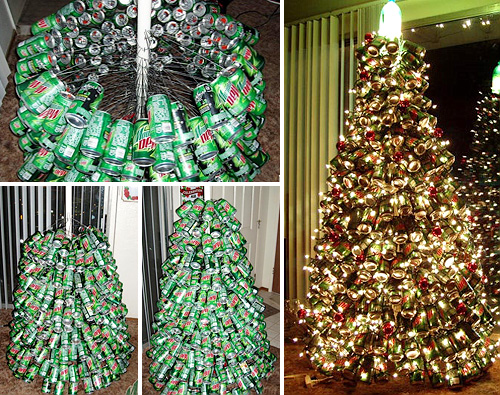 Mountain Dew Christmas Tree (Images courtesy David Barshow)