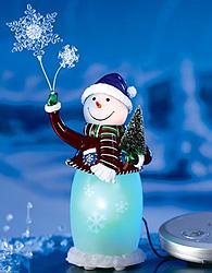 Acrylic Snowman Speaker System (Image courtesy AVON)