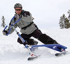 Snow Carving Tri-Ski System (Image courtesy Hammacher Schlemmer)