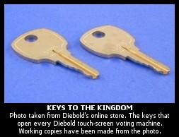 diebold keys